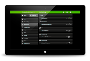 web interface loxone